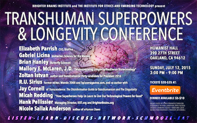 Transhuman Superpowers and Longevity Conference